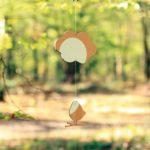 Suspension déco – L'oiseau et le nuage