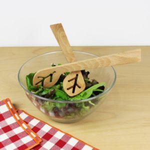 Couverts à salade – Du bout des feuilles
