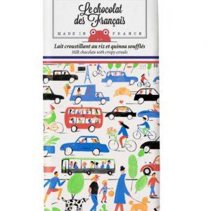 Chocolat au lait croustillant aux céréales – Traffic