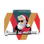 Bougie Santa Cool – Marrons glacés