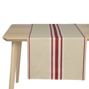 Jeté de table – Corda Bordeaux