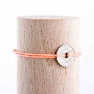 5 Cts – Bracelet scintillant – Corail
