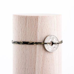 5 Cts – Bracelet scintillant – Noir