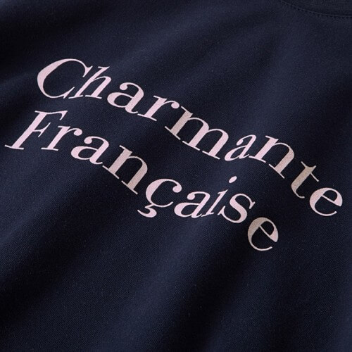 Sweat stella charmante française