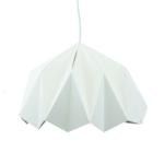 Lampe origami en papier – Blanc