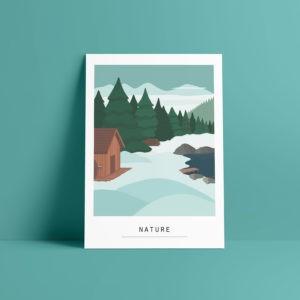 Carte A6 – Nature