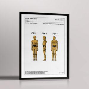 Affiche de brevet – C-3PO