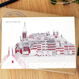 Lyon Saint-Georges – Affiche ou carte