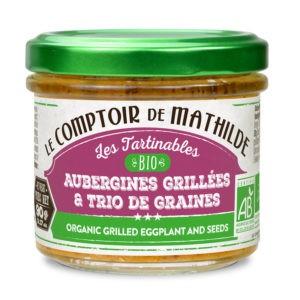 Les tartinables – Aubergines Grillées BIO