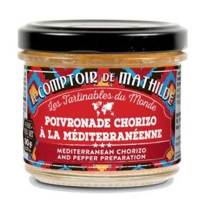 Les tartinables – Poivronade Chorizo