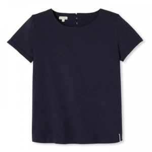 Rose – T-shirt bleu marine