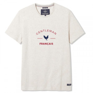 Philibert – T-shirt Gentleman Français beige