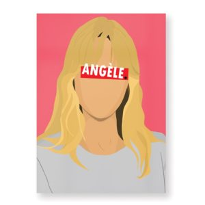 Angèle – Affiche 30×40