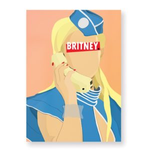 Britney Spears – Affiche 30×40