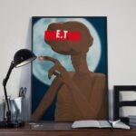 E.T L'extraterrestre – Affiche 30×40