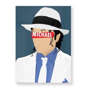 Michael Jackson – Affiche 30×40