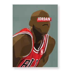 Michael Jordan – Affiche 30×40