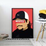Nekfeu – Affiche 30×40
