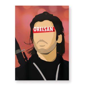 Orelsan – Affiche 30×40