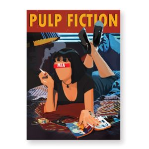 Pulp Fiction – Affiche 30×40