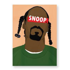 Snoopdog – Affiche 30×40