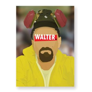 Walter White – Affiche 30×40