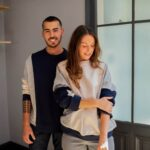Timothée – Sweat mixte patchwork