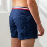 Le capitaine – Short de bain bleu