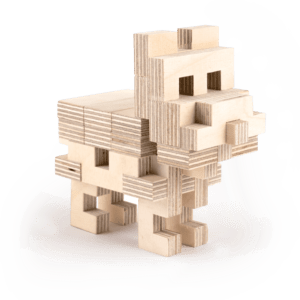 Le Chien – Jeu en bois à assembler