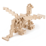 Le Dragon – Jeu en bois à assembler