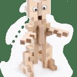 Le robot – Jeu en bois à assembler