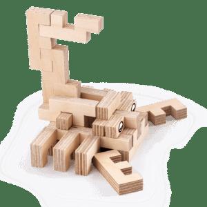 Le Scorpion – Jeu en bois à assembler
