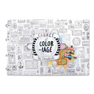 Carnet de coloriage XXL