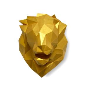 Tête de lion – Or