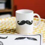 Sticker pour vaisselle – Moustache