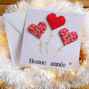 Carte de voeux – Coeur