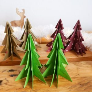 Sapins décoratifs – 3 paires