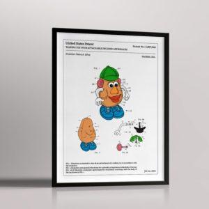 Affiche de brevet – Monsieur Patate