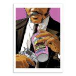 Jules pulp fiction – Affiche 30 X 40