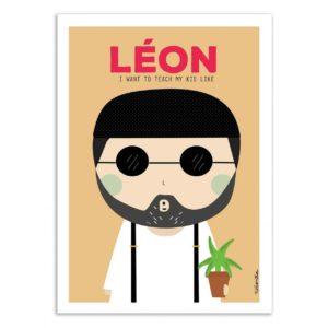 Leon – Affiche 30 X 40