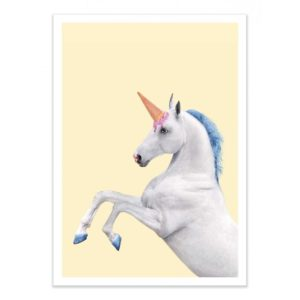 Licorne – Affiche 30 X 40