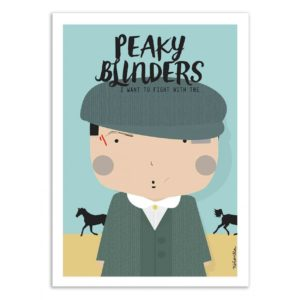Peaky Blinders – Affiche 30 X 40