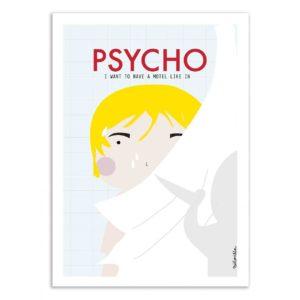 Psycho – Affiche 30 X 40