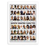 Quentin Tarantino – Affiche 30 X 40