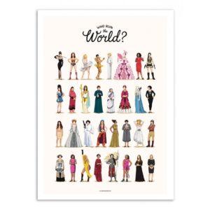 Run the World – Affiche 30 X 40
