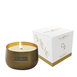 Bougie OR – Coffret 260g