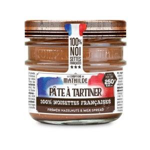 Pâte à tartiner – Chocolat et noisettes françaises