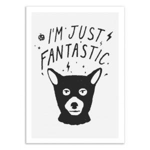 I'm just fantastic – Affiche 30 X 40