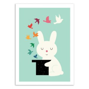 Lapin – Magic of peace – Affiche 30 X 40