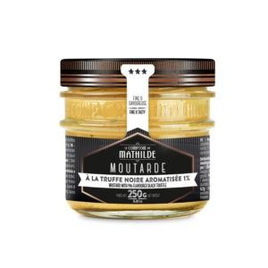 Moutarde – Truffe noire 250g